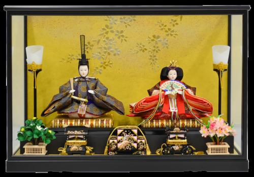 【高級ひな人形ケース 千寿】お好きなお人形をお選びいただけます