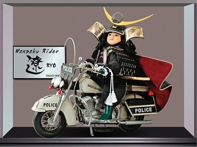 バイク乗り大将
