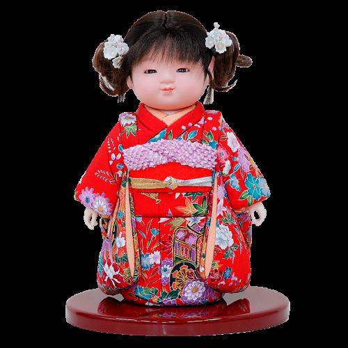 木目込 ミニ市松人形